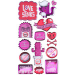 Stupid Cupid Dimensional Stickers - Sticko