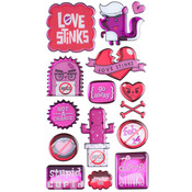 Stupid Cupid Dimensional Stickers - Sticko