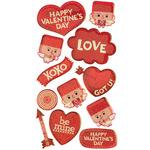 Square Head Cupid Dimensional Stickers - Sticko