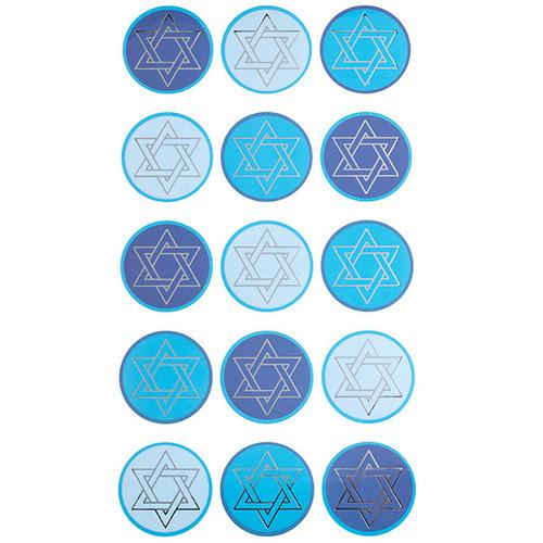 Jewish Stars Sticko Stickers
