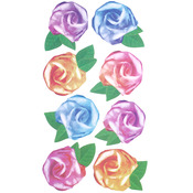 Tissue Roses Sticko Stickers