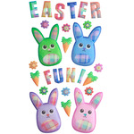 Fabric Easter Sticko Stickers