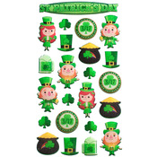 Leprechaun Fun Sticko Stickers