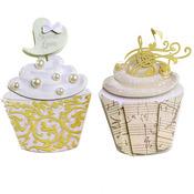 Wedding Cupcakes Slim Stickers - Jolee's Boutique