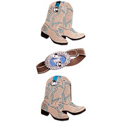 Country Western Slim Stickers - Jolee's Boutique