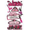 Dance Dimensional Stickers - Jolee's Boutique