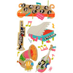 Music Dimensional Stickers - Jolee's Boutique