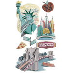 New York Dimensional Stickers - Jolee's Boutique