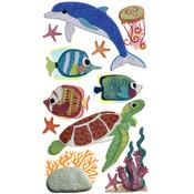 Felt Sea Life Dimensional Stickers - Jolee's Boutique