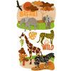 Safari Dimensional Stickers - Jolee's Boutique