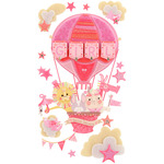Baby Girl Special Delivery Dimensional Stickers - Jolee's Boutique