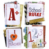 Stitched Notebook Paper Words Stickers - Jolee's Boutique