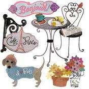 Cafe' Paris Dimensional Stickers - Jolee's Boutique