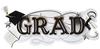 Grad Title Wave Sticker - Jolee's Boutique