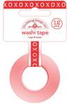 Hugs & Kisses 8mm Washi Tape - Sweetheart - Doodlebug
