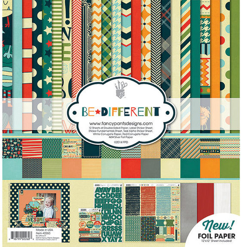 Be Different Collection Kit - Fancy Pants Designs