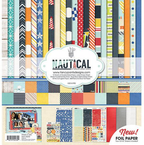 Nautical Collection Kit - Fancy Pants Designs