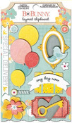 Baby Bump Layered Chipboard - Bo Bunny