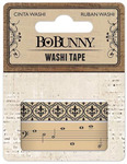 Kraft Patterned Washi Tape - Bo Bunny