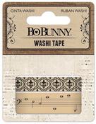 Kraft Patterned Washi Tape - Bo Bunny