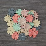 Flower Girl Paper Flowers - Something Blue - Prima