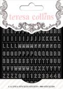 Black Matchbook Alphas - Teresa Collins