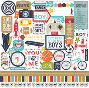That's My Boy Element Stickers - Echo Park