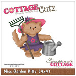 Miss Garden Kitty 4x4 Die - Cottage Cutz