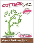 Garden Birdhouse Tree Elites Die - Cottage Cutz