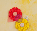 Garden Fresh Fabric Flowers - Bloom - Prima