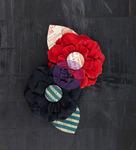 Correspond Fabric Flowers - Stationer's Desk - Prima