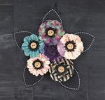 Transcribe Paper Flowers - Stationer's Desk - Prima