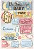 Bedtime For Baby Cardstock Stickers - Karen Foster