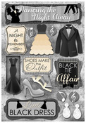 Dancing The Night Away Cardstock Stickers - Karen Foster
