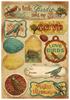 Vintage Birds Cardstock Stickers - Karen Foster