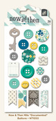 Documented Decorative Buttons - Milo - My Minds Eye