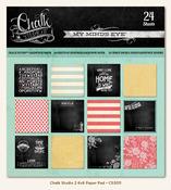 Chalk Studio 6 x 6 Paper Pad - My Minds Eye