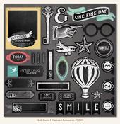 Chalk Studio 2 - 12 x 12 Chipboard Elements - My Minds Eye
