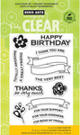For Your Kindness Clear Stamps - Hero Arts