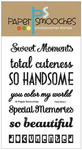Headlines Clear Stamp - Paper Smooches