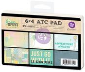 Free Spirit 4 x 6 ATC Cards - Prima