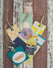 Free Spirit Tags & Tickets - Prima 24 Pieces, (12) Tags & (12) Tickets, Package: 3.5  x 7 .