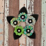 Bell Bottoms Paper Flowers - Free Spirit - Prima