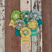 Outtasight Paper Flowers - Free Spirit - Prima