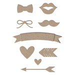 Party Icon Cutting Dies - Little B