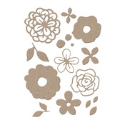 Bouquet Icon Cutting Dies - Little B