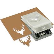 Deer Head Large Punch - EK Success