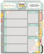 Misc Me Baby Bump Calendar Contents - Bo Bunny