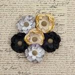 Briella Bella Burlap Paper Flowers - Prima