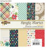 Homespun 6 x 6 Paper Pad - Simple Stories